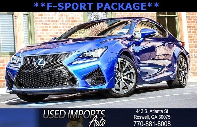 2015 Lexus RC F Super Sports Package