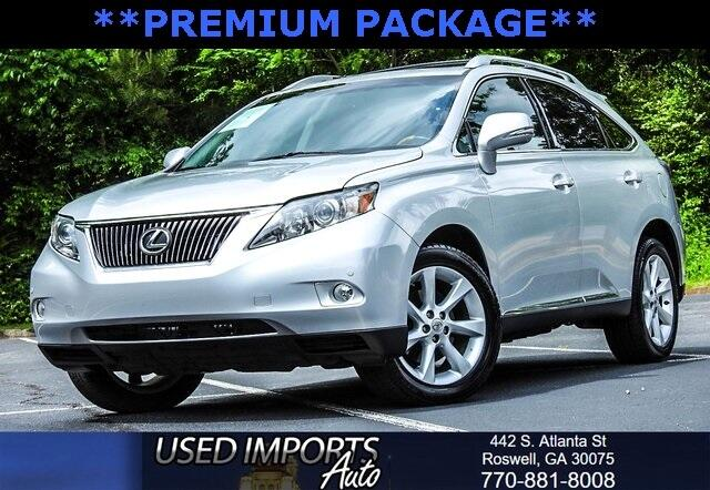 2010 Lexus RX 350 Premium Package