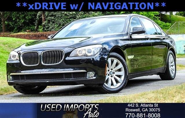 2011 BMW 7 Series 4dr Sdn 750Li xDrive AWD