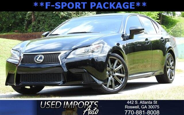2014 Lexus GS 350 F-Sport Package