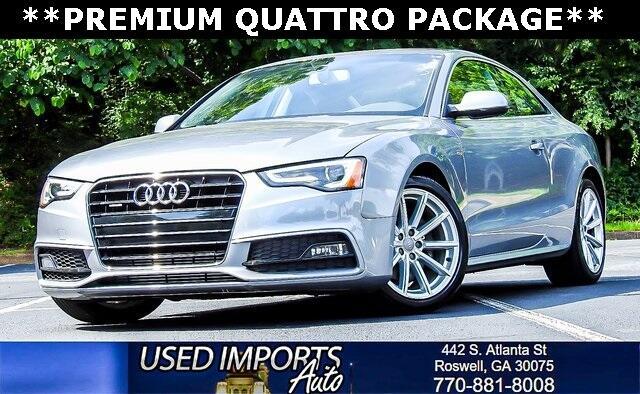2016 Audi A5 Premium Quattro