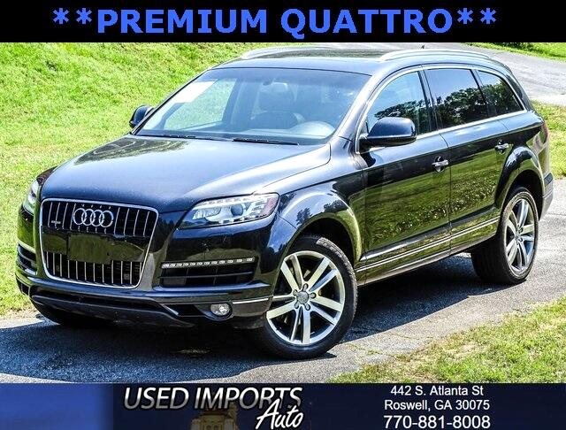 Audi For Sale In Ga >> Used 2012 Audi Q7 For Sale In Roswell Ga 30075 Used Imports Auto
