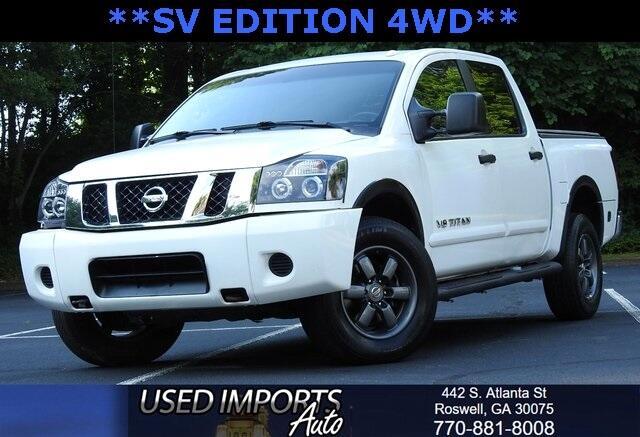 Nissan Titan 4WD Crew Cab SWB SV 2015