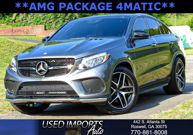 2017 Mercedes-Benz GLE AMG GLE 43 4MATIC Coupe