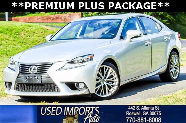 2016 Lexus IS 300 Premium Plus Package