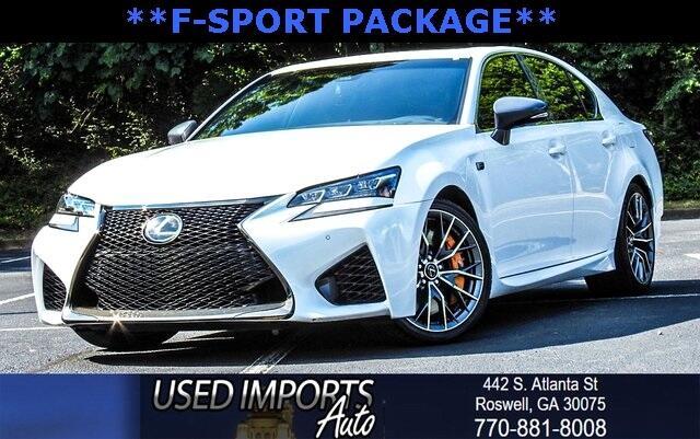 2016 Lexus GS F F-Sport Package