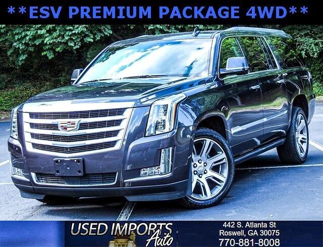 2016 Cadillac Escalade ESV 4WD 4dr Premium Collection