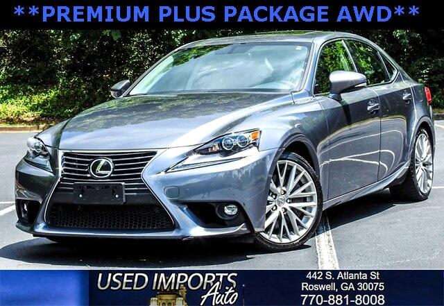 2016 Lexus IS 300 Premium Plus Package