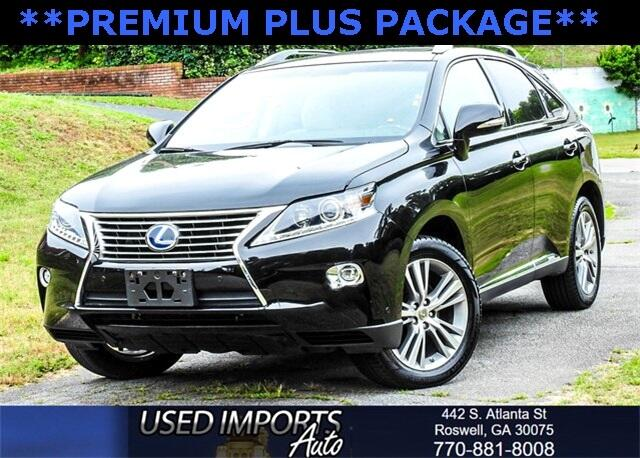 2015 Lexus RX 450h Premium Plus Package