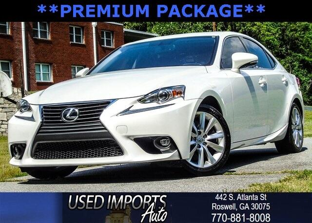 2016 Lexus IS 200t Premium Package