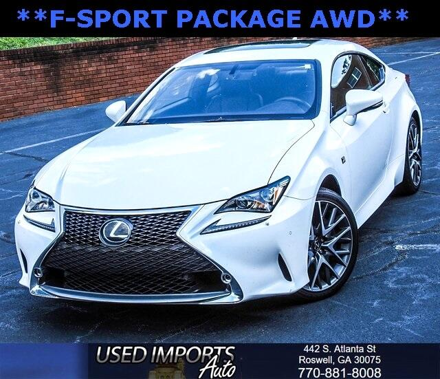 2017 Lexus RC 350 F-Sport Package