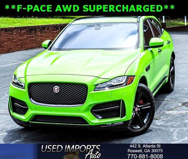 2017 Jaguar F-Pace 35t R-Sport AWD
