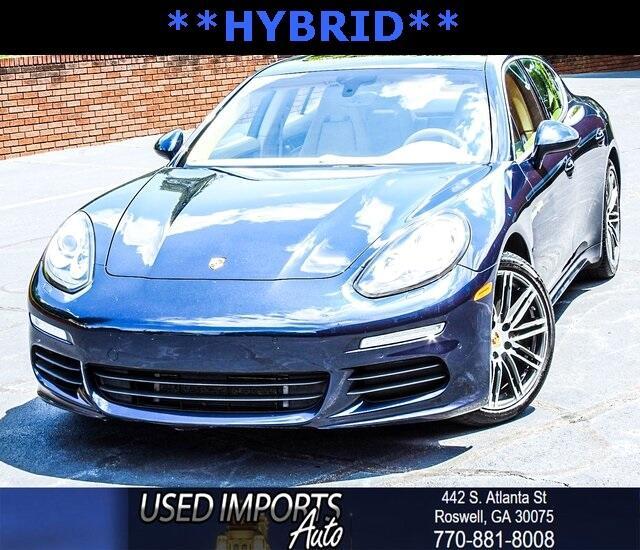 2016 Porsche Panamera 4dr HB S E-Hybrid