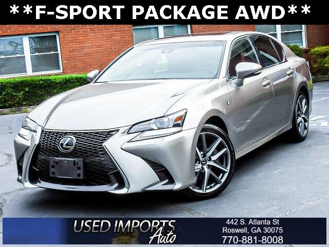 2016 Lexus GS 350 F-Sport Package AWD