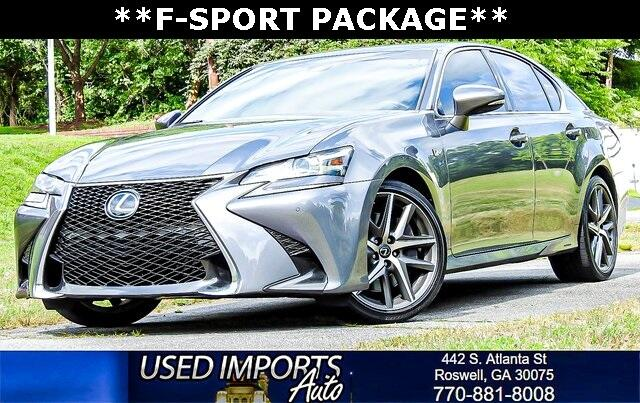 2016 Lexus GS 350 F-Sport Package