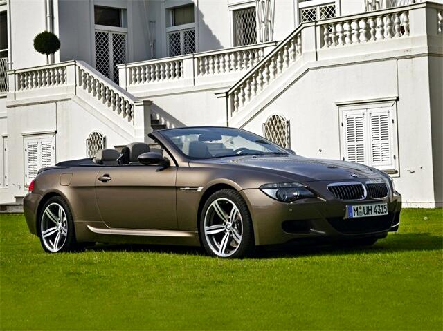 2007 BMW 6 Series 2dr Conv M6