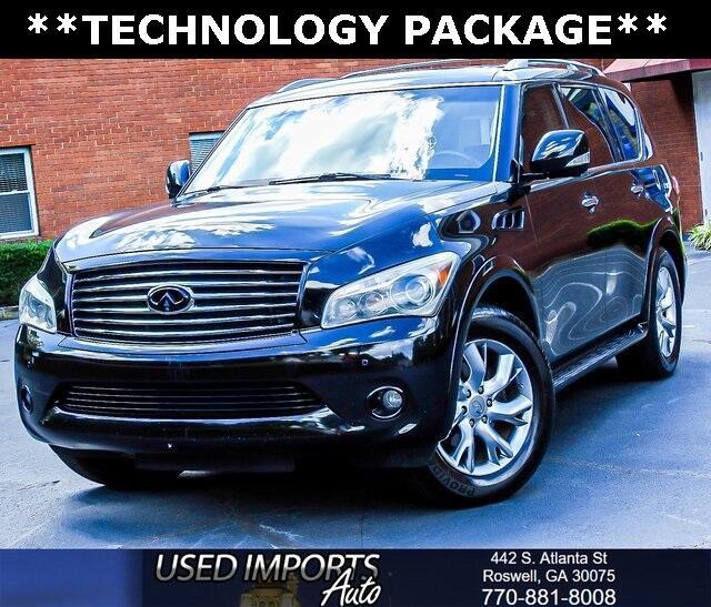 2012 Infiniti QX56 Technology Package