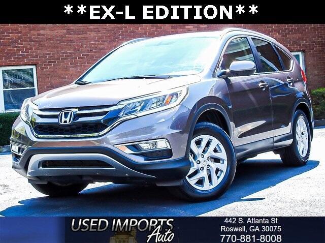 2015 Honda CR-V 2WD 5dr EX-L w/Navi