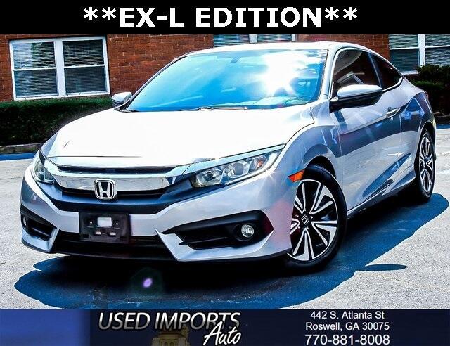 2016 Honda Civic Coupe 2dr CVT EX-L