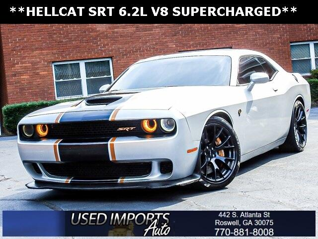 2016 Dodge Challenger 2dr Cpe SRT Hellcat