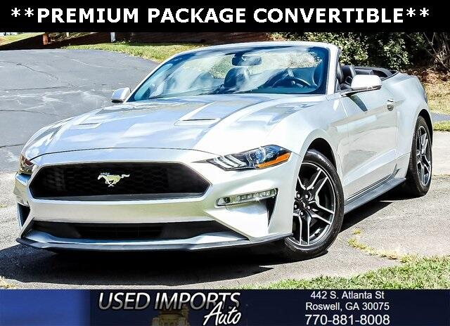 2018 Ford Mustang EcoBoost Premium Convertible