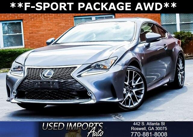 2016 Lexus RC 300 F-Sport Package