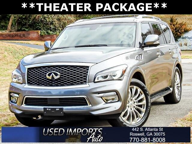 2017 Infiniti QX80 Theater Package