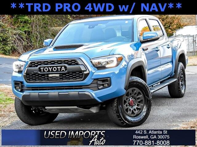 2018 Toyota Tacoma SR Double Cab 5' Bed V6 4x4 AT (Natl)