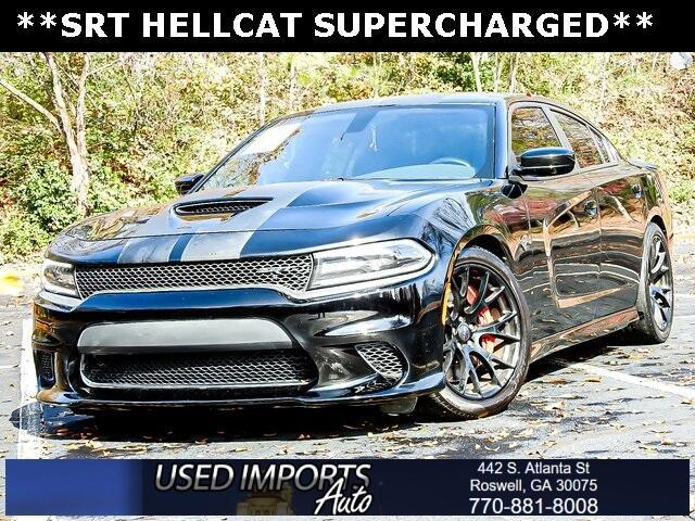 2016 Dodge Charger 4dr Sdn SRT Hellcat RWD