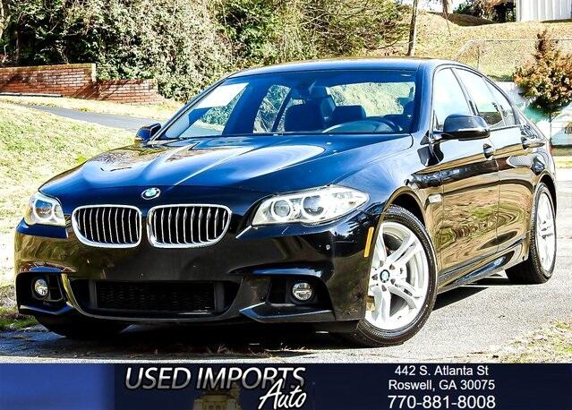 2016 BMW 5 Series 528i M-Sport Package