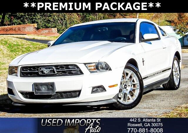 2012 Ford Mustang 2dr Cpe V6 Premium