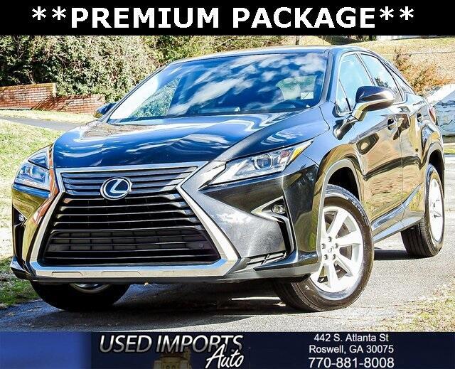 2016 Lexus RX 350 Premium Package
