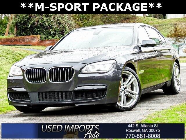 2015 BMW 7 Series 4dr Sdn 750Li RWD