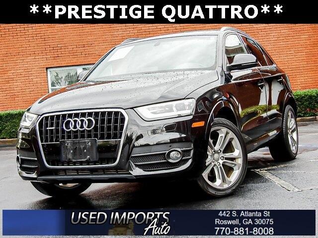Audi Q3 quattro 4dr 2.0T Prestige 2015