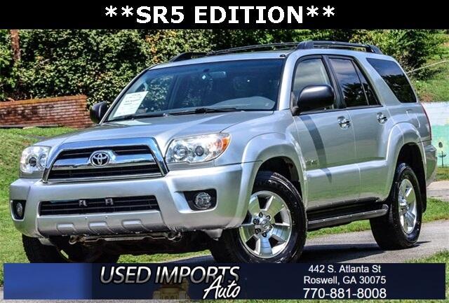 Toyota 4Runner 2WD 4dr V6 SR5 (Natl) 2007