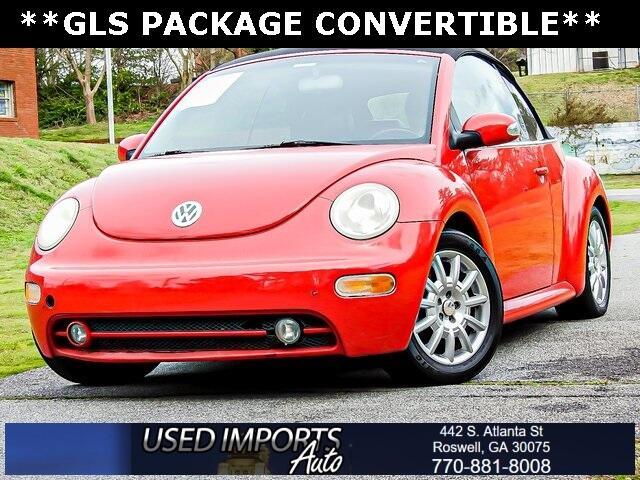 Volkswagen New Beetle Convertible 2dr Convertible GLS Auto 2004