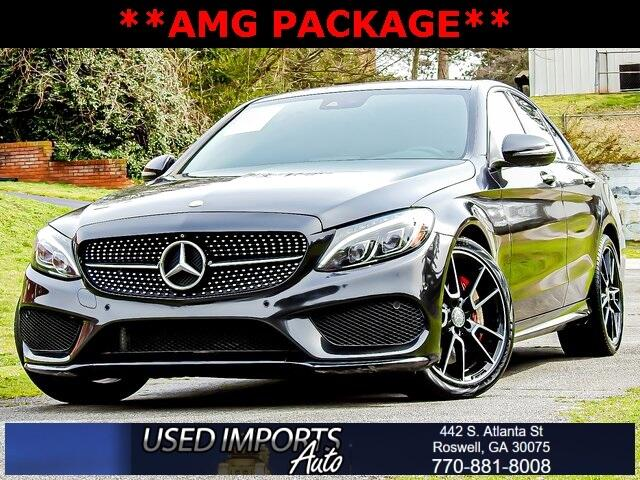 Mercedes-Benz C-Class 4dr Sdn C 450 AMG 4MATIC 2016