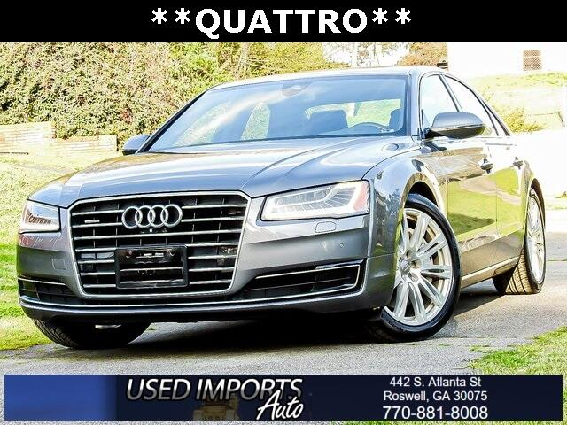 Audi A8 4dr Sdn 3.0T 2015
