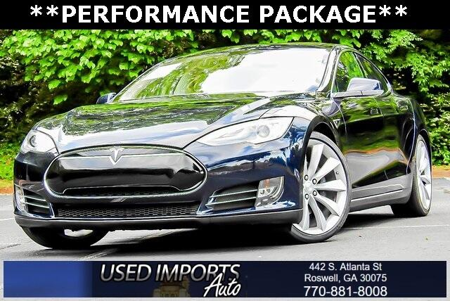 Tesla Model S 4dr Sdn Performance 2013