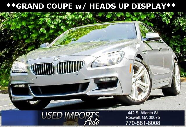 BMW 6 Series 4dr Sdn 650i RWD Gran Coupe 2014