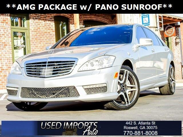 Mercedes-Benz S-Class 4dr Sdn S 63 AMG RWD 2012