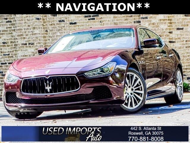 Maserati Ghibli 4dr Sdn 2016