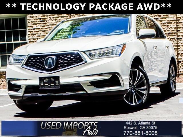Acura MDX SH-AWD w/Technology Pkg 2017