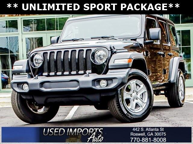 Jeep Wrangler Unlimited Sport S 4x4 2020