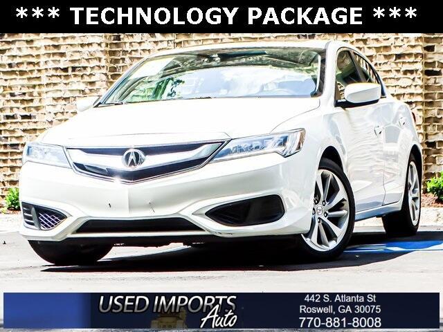 Acura ILX Sedan w/Technology Plus Pkg 2017