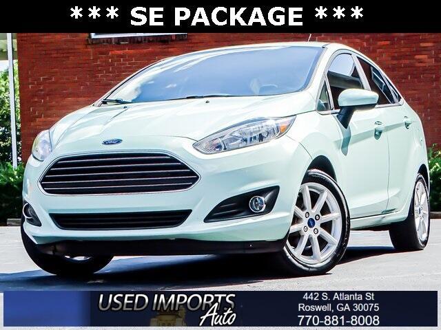 Ford Fiesta SE Sedan 2019