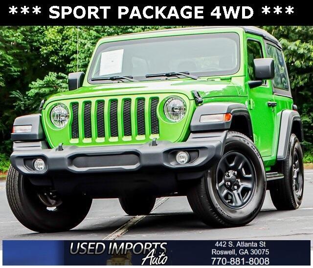 Jeep Wrangler Sport 4x4 2019