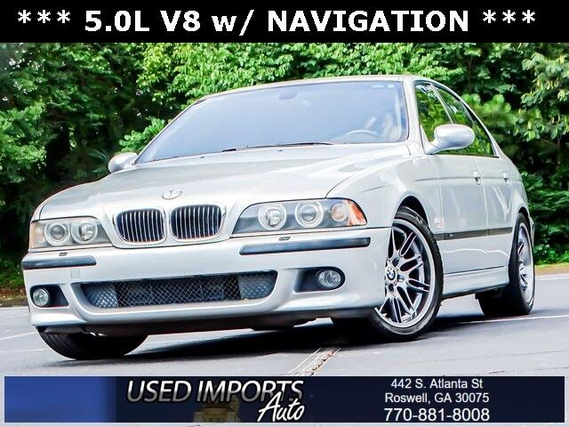 BMW 5 Series M5 4dr Sdn 6-Spd Manual 2003