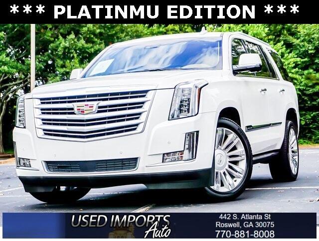Cadillac Escalade 2WD 4dr Platinum 2016