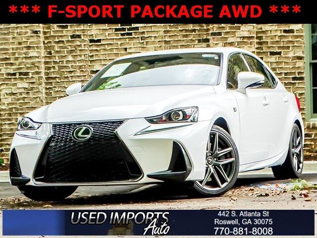 Lexus IS IS 300 AWD 2017